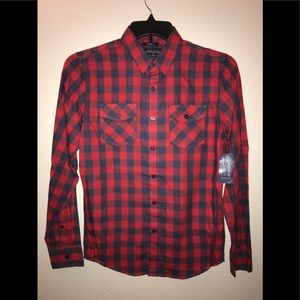 🔥American Rag Cie Plaid Checkered Shirt XSmall